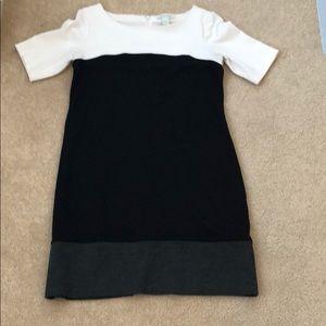 White House Black Market multi color dress